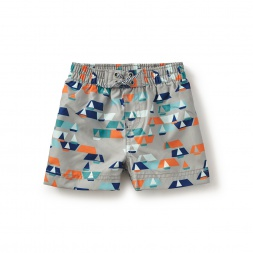 Sail Away Baby Swim Trunks