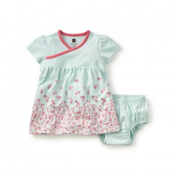 Cannelita Wrap Neck Baby Dress