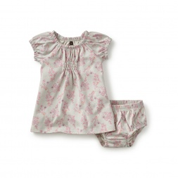 Bambina Smocked Newborn Dress