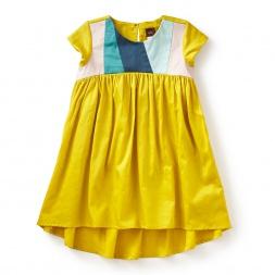 Aurora Colorblock Hi-Lo Dress