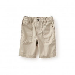 Gondola Canvas Travel Shorts