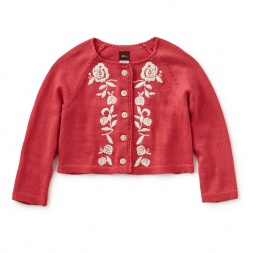 Isabella Embroidered Cardigan