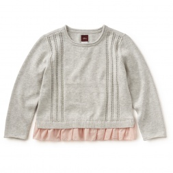 Bellissia Ruffle-Trim Sweater