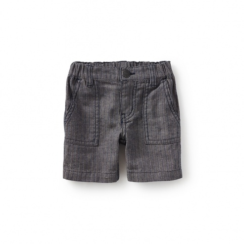 Street Stripes Baby Shorts
