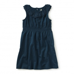 Elena Eyelet Trimmed Dress