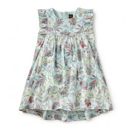 Florentine Floral Hi-Lo Dress