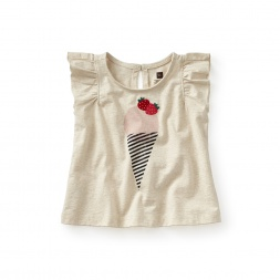 Berry Cute Flutter Tee