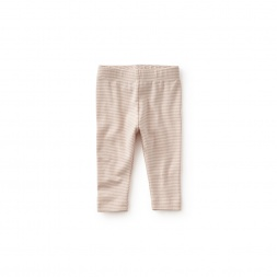 Striped Capri Baby Leggings