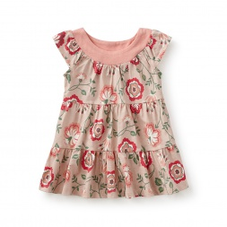 Via Sannio Twirl Baby Dress
