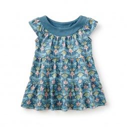 Hidden Butterflies Twirl Baby Dress
