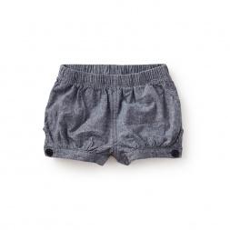 Chambray Baby Shorts