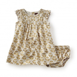 Rialto Metallic Baby Dress
