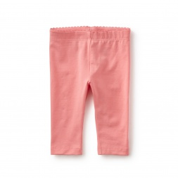 Solid Capri Baby Leggings