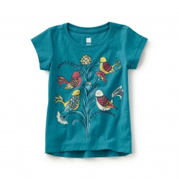 Italian Sparrows Graphic Tee