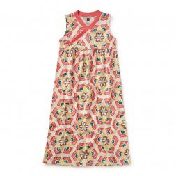 Ceramic Treasures Maxi Dress