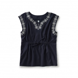 Sorrento Embroidered Cover-Up