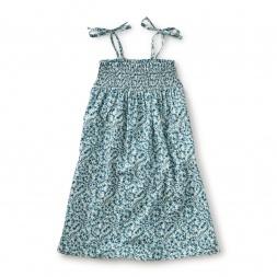 Mondo Acquatico Shoulder-Tie Dress