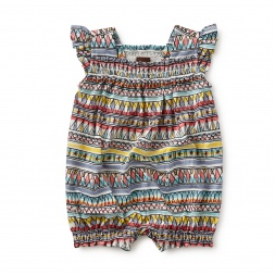 Dream Weaver Smocked Romper