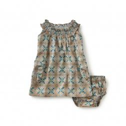 Giuditta Smocked Baby Dress