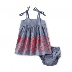 Amata Shoulder-Tie Baby Dress