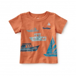Boats on the Water Graphic Tee