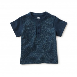 Nautical Wonders Graphic Henley