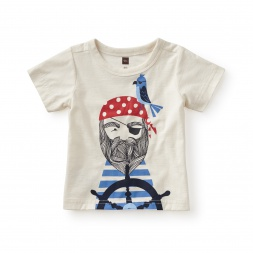 Aye Aye Captain Graphic Baby Tee