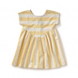 La Donna Button Back Dress