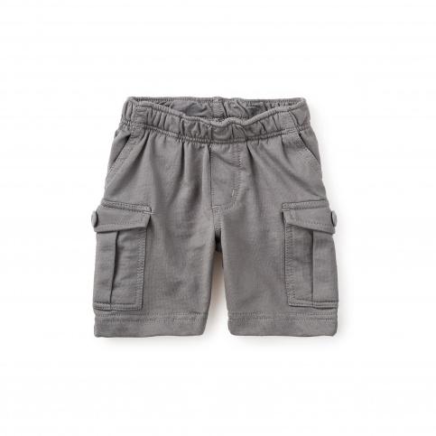 Knit Cargo Baby Shorts for Boys | Tea Collection