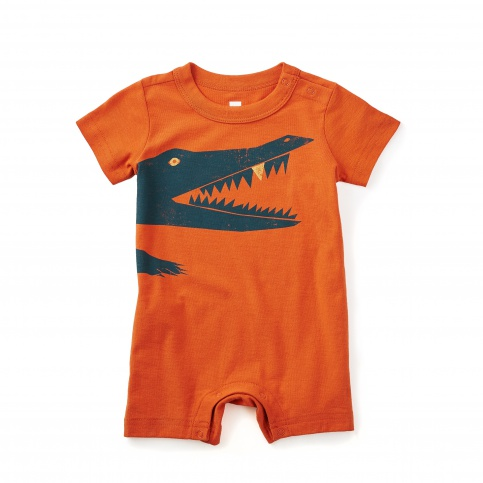 Oh Snap! Baby Romper
