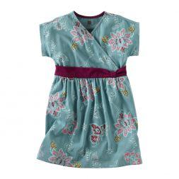 Tea Collection Lotus Batik Knot Dress