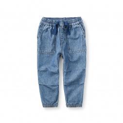 Indigo Canvas Pants