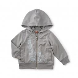 Koi Zip Baby Hoodie
