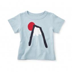 Mount Fuji Baby Graphic Tee