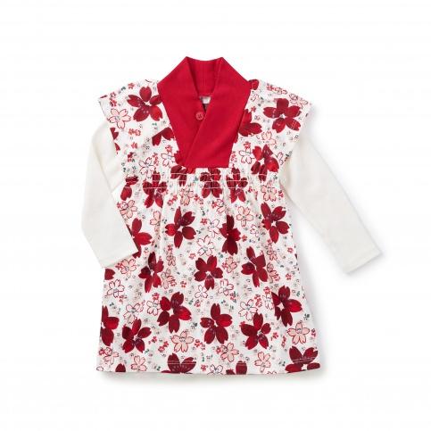 Kichi Double Decker Baby Dress