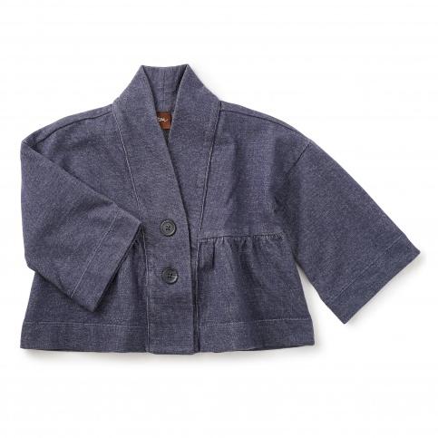 Denim Like Kimono Jacket
