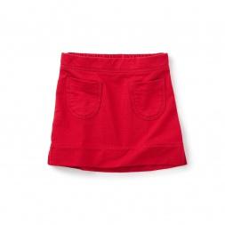 Monaka Solid Pocket Skirt