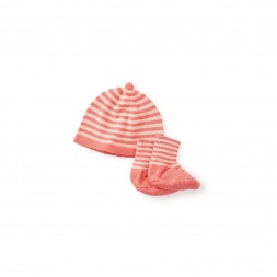 Pinku Hat and Socks Set