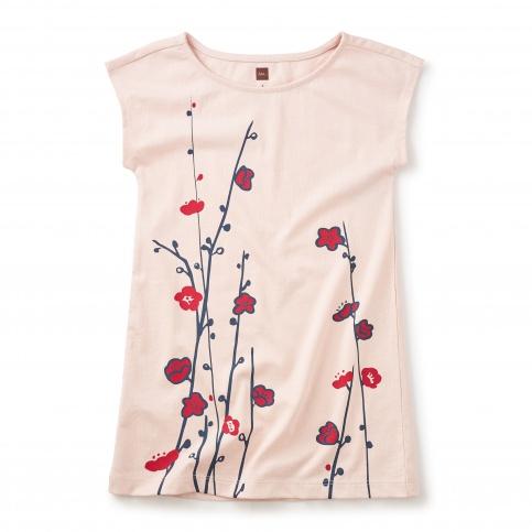 Sakura Graphic Dress