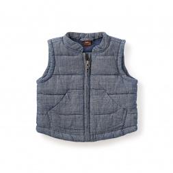 Citizen Chambray Baby Vest
