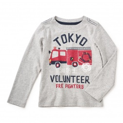 Tokyo Fire Graphic Tee