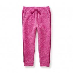 Solid Side Stripe Pants