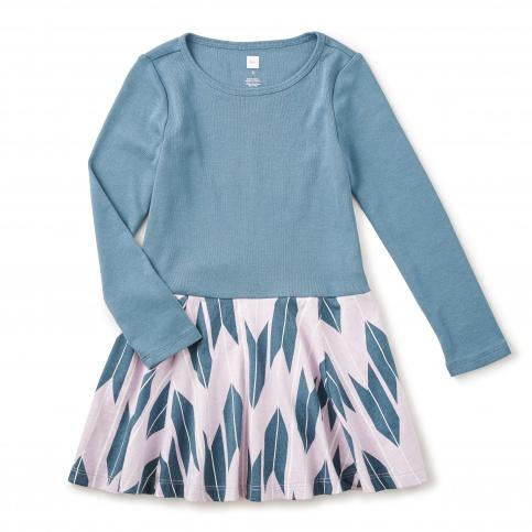 Yagasuri Skirted Dress