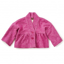 French Terry Kimono Jacket