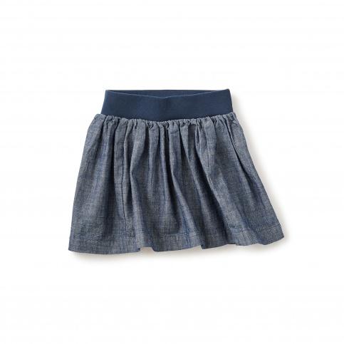 Citizen Chambray Twirl Skirt