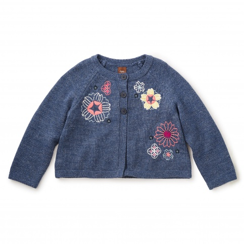 Panji Embroidered Cardigan