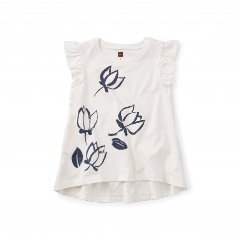 Haru Graphic Twirl Top
