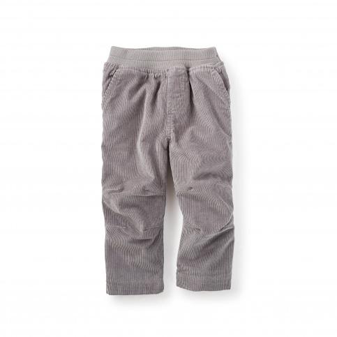 Lined Corduroy Baby Pants