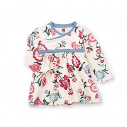 Taiyo Wrap Neck Dress