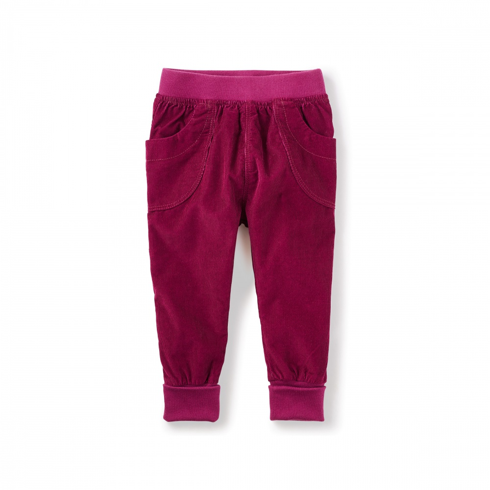 Corduroy Cuffed Baby Pants | Tea Collection